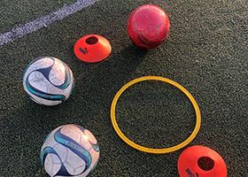 ボール・トレーニング器具完備